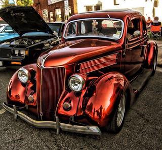 Classic Car Show Event - Phoenix  New York - Oswego County - Custom Ford   by Onasill ~ Bill Badzo