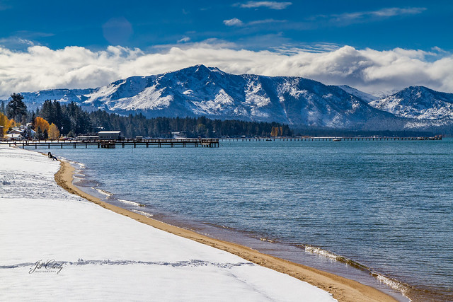 First Snowfall, South Lake Tahoe