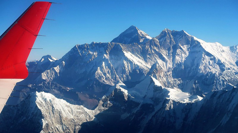Everest Experience Flight, NEPAL, November 2018