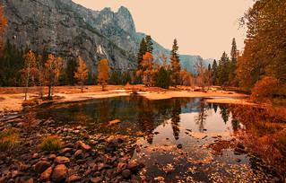Smokey Yosemite   by Rennett Stowe