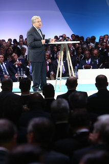 Secretary-General Speaks at Paris Peace Forum | by United Nations Photo