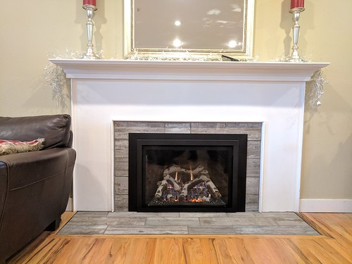 Kozy Heat Roosevelt 34 with Birch Logs. | by Thompson's Hearth & Home