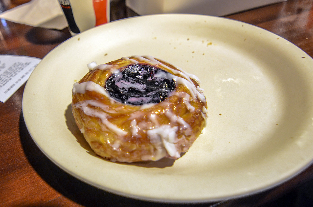 Blueberry danish Roaring Fork