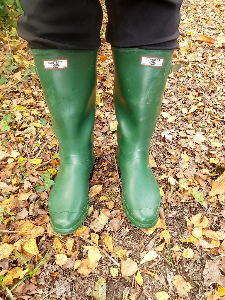 best selection of choose authentic clients first Huntress wellies on an Autumn day walk in the woods | Flickr