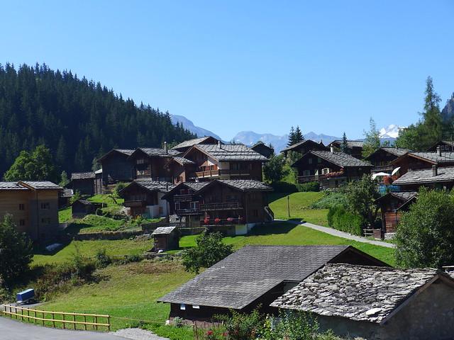 Blatten im Kanton Wallis
