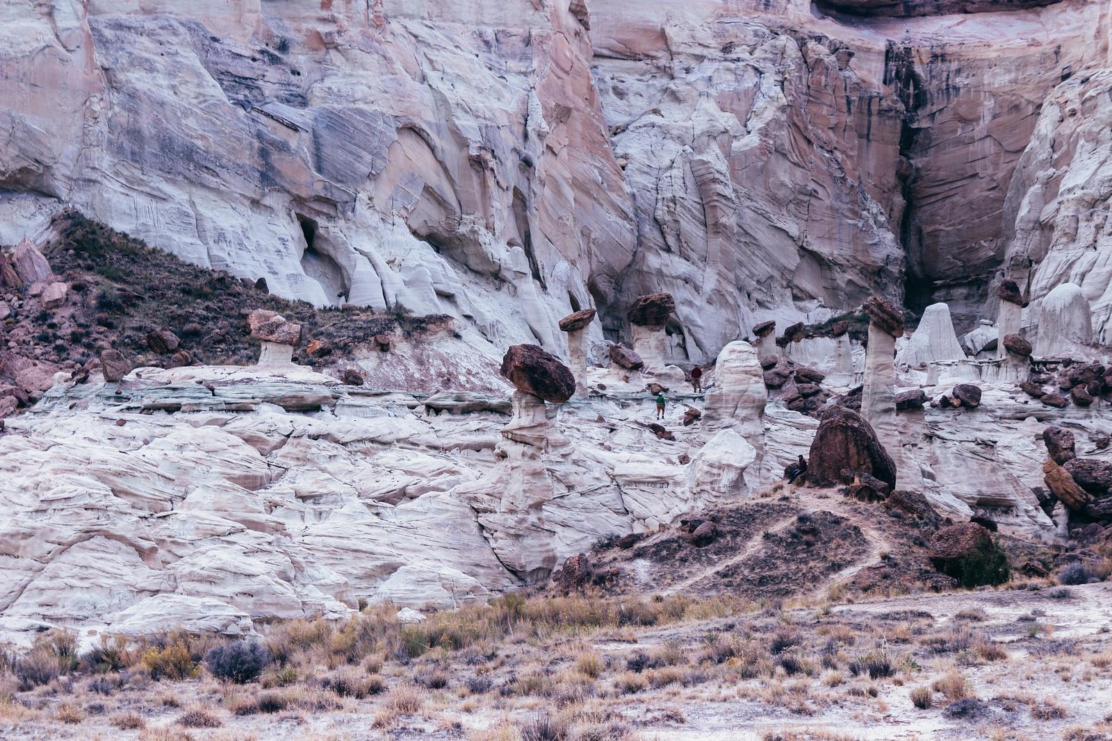 Wahweap Hoodoos, Utah