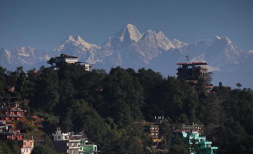 himalayas nagarkot nepal mountains views asia travel canoneosm6 canonefm18150