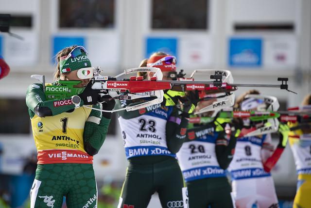 IBU world cup biathlon, mass women, Antholz (ITA)
