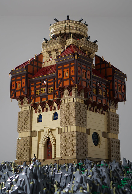The Castle of Captain Sabertooth