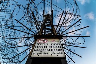 """Danger of Death"". Seen in Be'er Sheva, Israel."