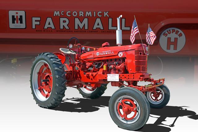 A Super Hero - 1953 McCormick Farmall Super H - (In Explore)