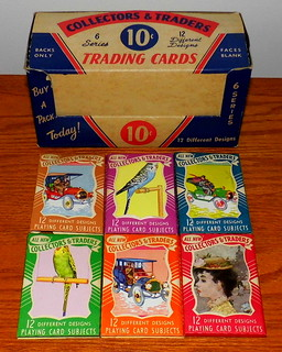 Vintage Arrco Collectors Traders Trading Cards Packs 12