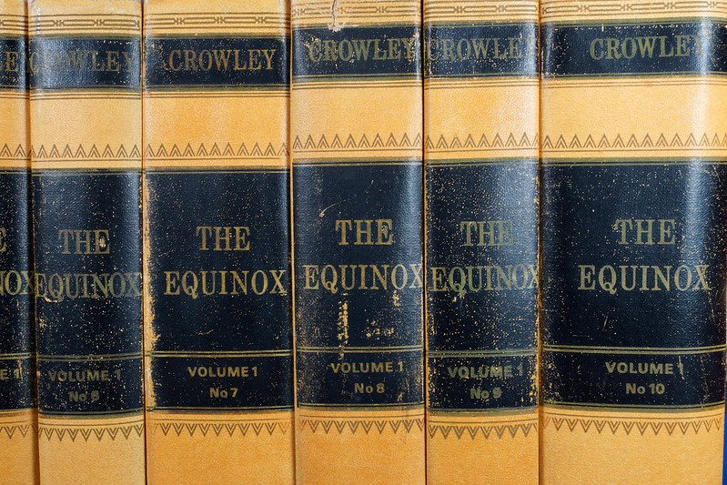 RD26573 The Equinox Review of Scientific Illuminism 1974 Vol. 1 Complete Set of 10 Books Aleister Crowley Occult Magic DSC08462