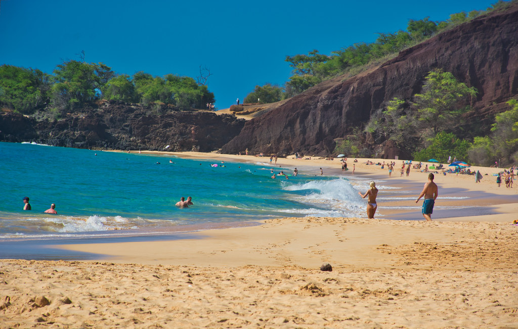 Makena Beach State Park Big Beach Makena Beach State Par