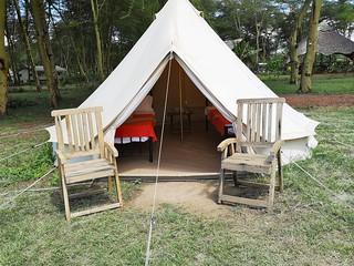 Africa Safari Lake Manyara Camping bell tent 2 guest 1 | by Paradise & Wilderness