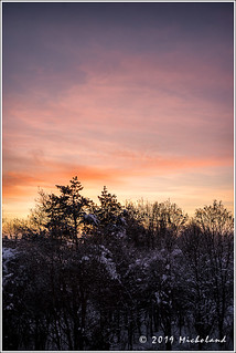 Wintery sunset | by Micholand