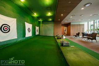 Indoor Golf -khong gian
