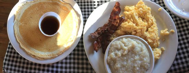 Breakfast at Moose Cafe