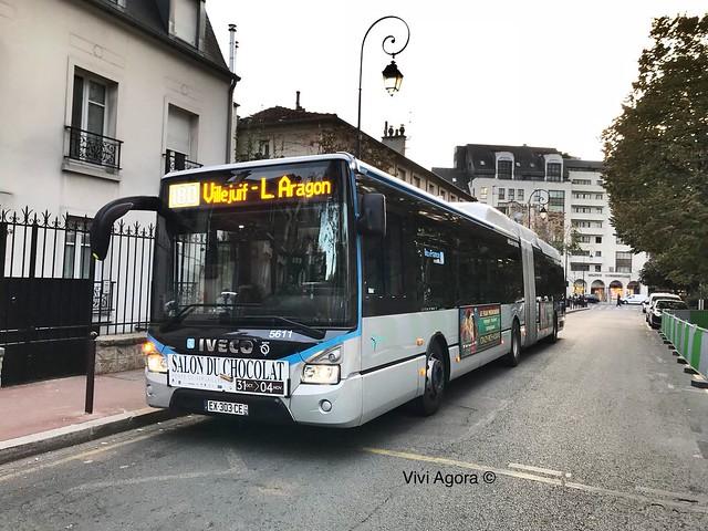 IVECO Urbanway 18 Hybride RATP IDFM bus 180