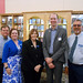 10.L-R:  John Myles, Julia Ward, Beverly Cain, Will Harbauer, Bill Morris. State Librarian Beverly Cain, Julia Ward, and Bill Morris traveled to Northwest Ohio in August 2018 to meet former State Library Board Member, John Myles, for a tour of four public libraries and the Museum of Fulton County.