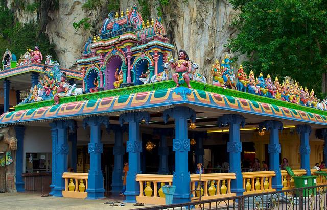 Hindu deities at Batu Caves, Malaysia