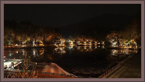 romania sovata lake night low light handheld olympus leica summilux 1517 em10mkii