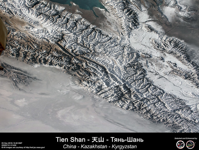 Tien Shan - 天山 - Тянь-Шань - China - Kazakhstan - Kyrgyzstan