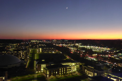 libertyuniversity lynchburg sunset