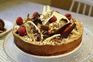 suklaajuustokakku | by toinenikkuna