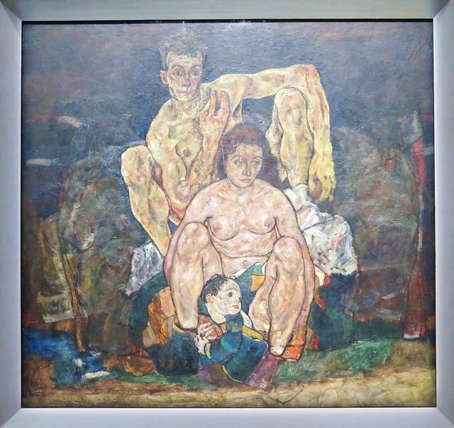 Vienna, Egon Schiele exhibition in the Lower Belvedere Orangery