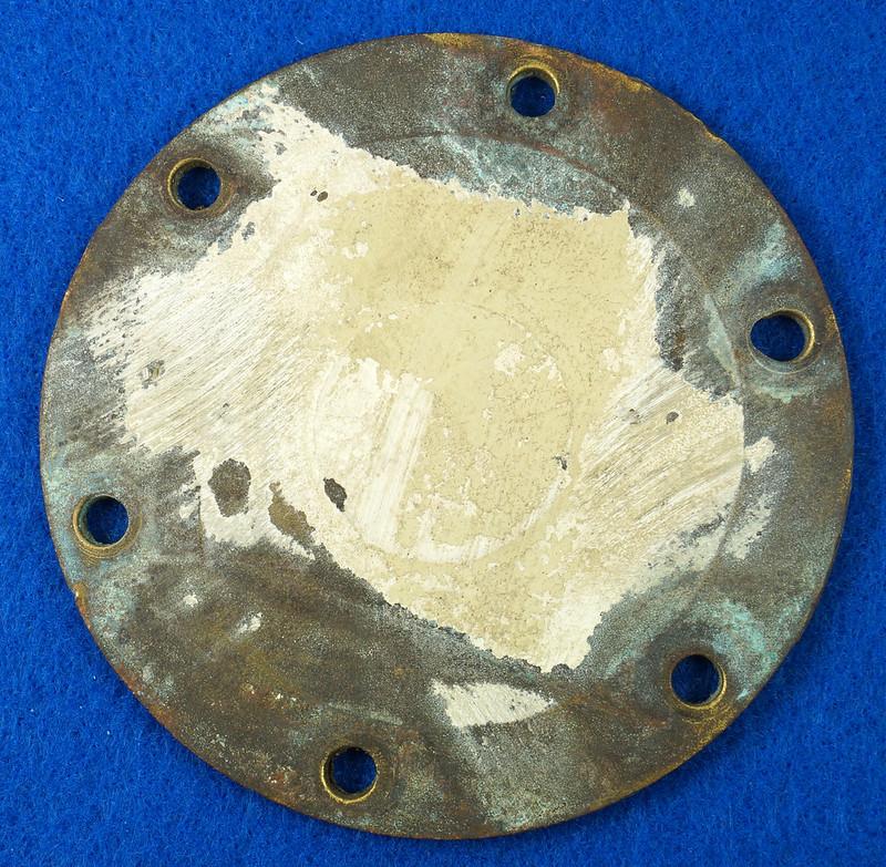 RD26699 Jabsco 2 inch Bronze Pedestal Pump Housing & Plate Only #18370-0000 DSC08789