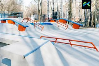 Бетонный скейт парк Сходня-7