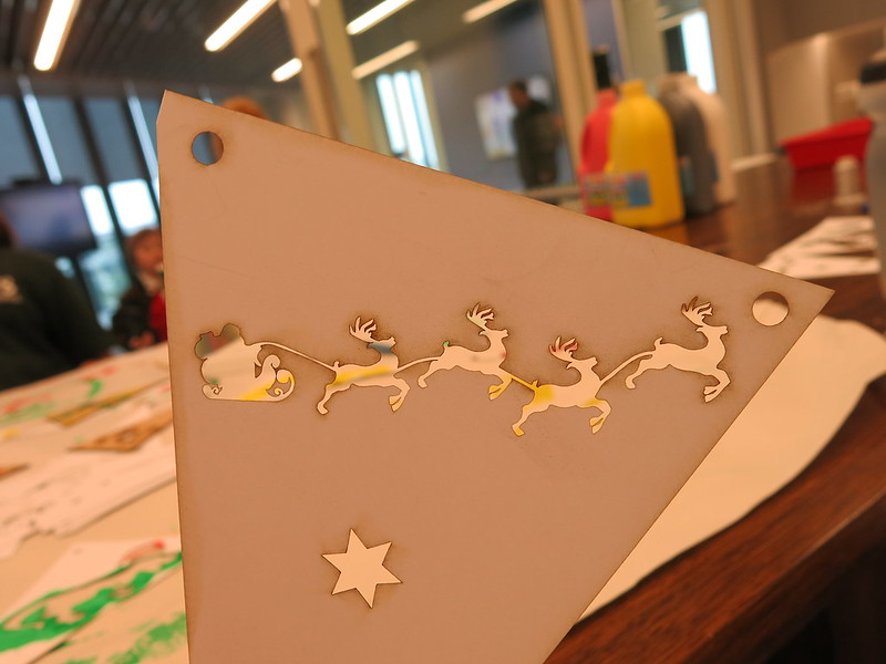 Christmas laser cuts, Auahatanga | Creativity, Level 4