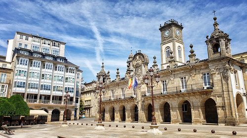 Plaza Mayor in Lugo, Galicia, Spain | by Randy Durrum