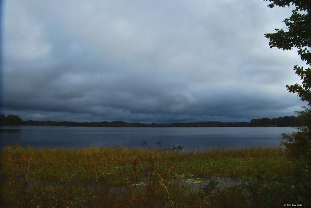 Bluish-gray Sky