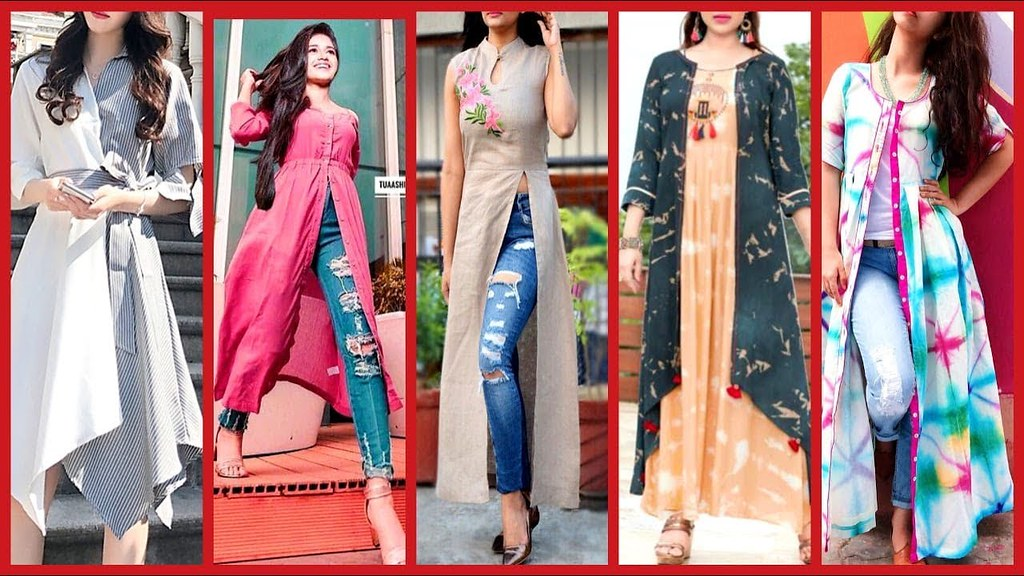 Stylish Gown Style Open Shirts Designs 2018 2019 Latest Fa Flickr