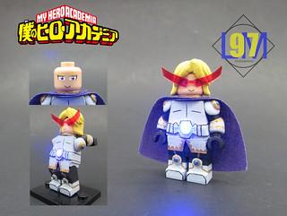 My Hero Academia Yuga Aoyama Yuga Aoyama Custom Minifigur