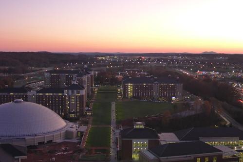libertyuniversity lynchburg sunset