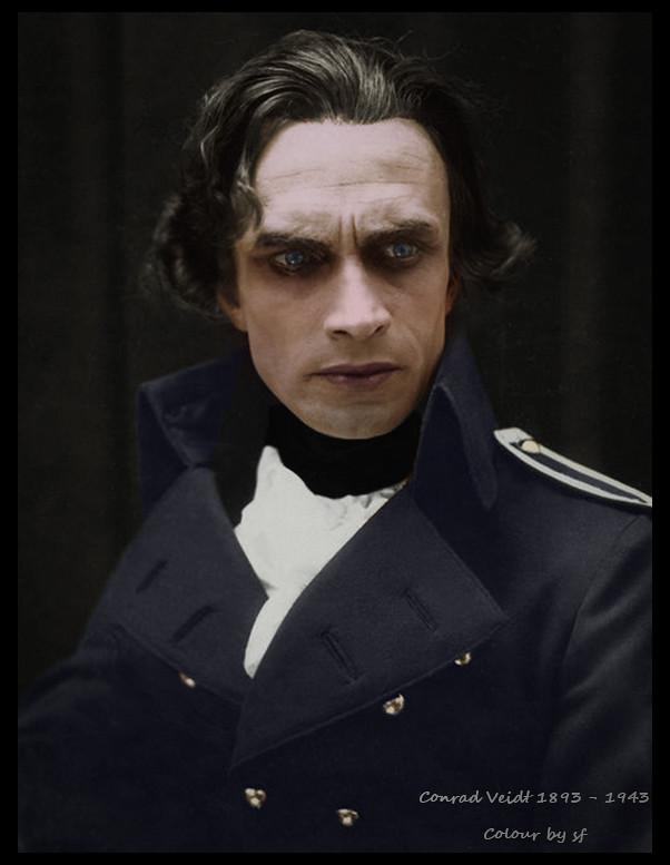 Conrad Veidt the man who laughs makeup