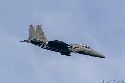 F-15E Strike Eagle 91-0310 - 494th Fighter Squadron RAF Lakenheath | by stu norris