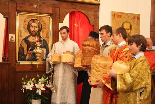 Пасхальное Богослужение в Свято-Никольском храме станицы Кавказской IMG_1469