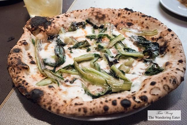 Cicoria Salata - sauteed chicory, Mediterranean anchovies, mozzarella fior di latte