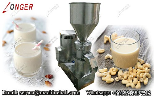Industrial Almond Nut Milk Grinder Machine