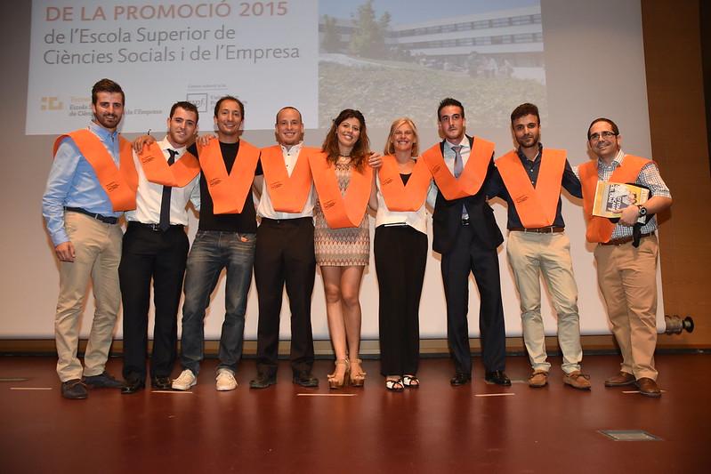 Acte de Graduació ADE Semipresencial, Turisme i Master en Empreneduria