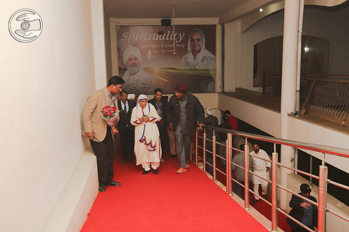 Arrival of Her Holiness at Satsang Bhawan, Ludhiana