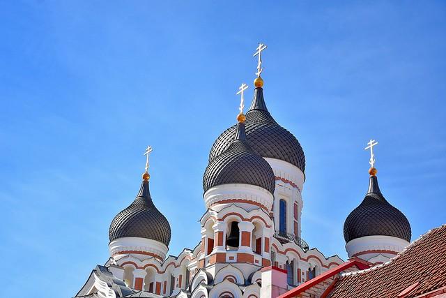 le cupole della Nevskij a Tallin