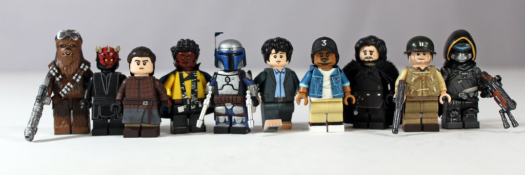 2018 - Top 10 Custom LEGO Minifigures | I don't think I made