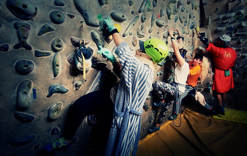 Fantasyclimbing corso di arrampicata il deposito di zio Paperone 33