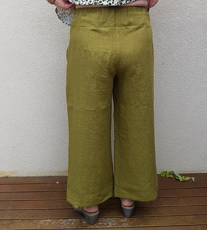 Style Arc Fifi pants in linen