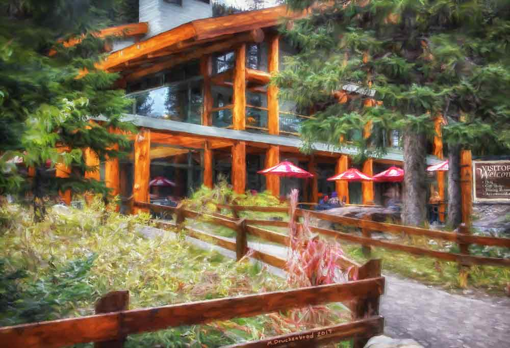 The Moraine Lake Lodge In The Canadian Rockies A Photo Pa